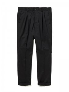 nonnative/ノンネイティブ/【送料無料】2020SS/DWELLER SLACKS TAPERED FIT W/P TROPICAL TWILL STRETCH/スラックス