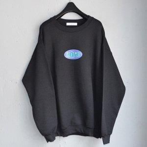 LABRAT/ラブラット/2020SS/circle logo sweat(BLACK)/クルーネックスウェット