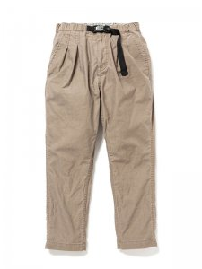 nonnative/ノンネイティブ/送料無料20SS/EXPLORER EASY PANTS COTTON COMPACT CORD WITH FIDLOCK® BUCKLE(BEIGE)