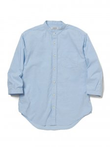 nonnative/ノンネイティブ/【送料無料】2020SUMMER/OFFICER SHIRT Q/S RELAXED FIT C/P OXFORD COOLMAX®/シャツ