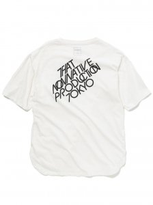 nonnative/ノンネイティブ/2020SUMMER/LABEL  TEE(OFF WHITE)/TEEシャツ