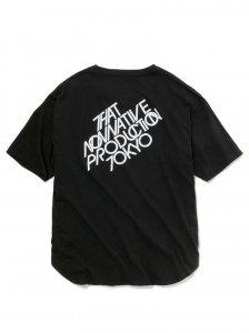 nonnative/ノンネイティブ/2020SUMMER/LABEL  TEE(BLACK)/TEEシャツ