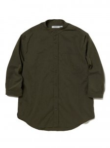nonnative/ノンネイティブ/【送料無料】20SU/OFFICER SHIRT Q/S RELAXED FIT P/L WEATHER STRETCH COOLMAX®(OLIVE)