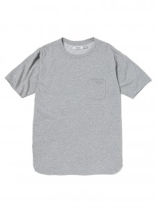 nonnative/ノンネイティブ/【送料無料】2020SU/DWELLER S/S TEE C/P JERSEY COOLMAX®(H.GRAY)/Tシャツ