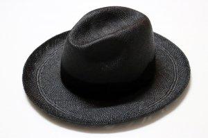 WACKOMARIA/ワコマリア/【送料無料】/HAT(04/JOHNNY/BLACK/BRISA(G3))(BLACK GROSGRAIN)/パナマハット