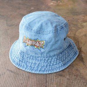 LABRAT/ラブラット/2020SS/rave logo denim hat/デニムハット