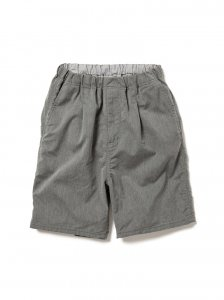nonnative/ノンネイティブ/【送料無料】2020SUMMER/DWELLER EASY SHORTS RELAX FIT C/P OXFORD STRETCH(H.GRAY)/ショートパンツ