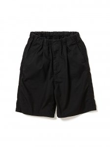 nonnative/ノンネイティブ/【送料無料】2020SUMMER/DWELLER EASY SHORTS RELAX FIT C/P OXFORD STRETCH(BLACK)/ショートパンツ
