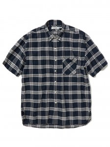 nonnative/ノンネイティブ/【送料無料】2020SUMMER/DWELLER B.D. SHIRT S/S RELAXED FIT L/C/P BROAD/シャツ
