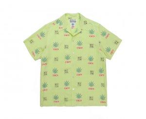 WACKOMARIA/ワコマリア/【送料無料】2020FWE/HIGHTIMES / HAWAIIAN SHIRT(GREEN)/ハワイアンシャツ
