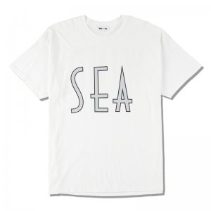 WIND AND SEA/ウィンダンシー/8th Collection/SEA (wavy) T-SHIRT(WHITE)/Tシャツ