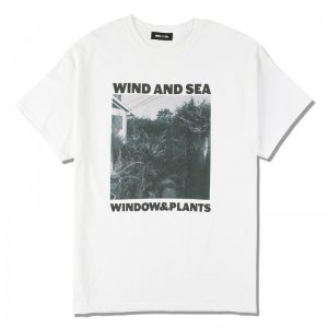WIND AND SEA/ウィンダンシー/8th Collection/WDS (W&P) PHOTO T-SHIRT(WHITE)/Tシャツ