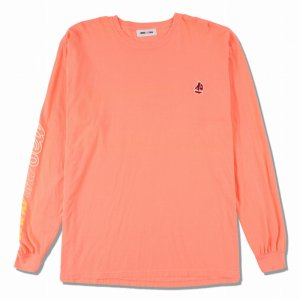 WIND AND SEA/ウィンダンシー/8th Collection/WDS(sail-boat) L/S T-SHIRT(PINK)/ロングスリーブTシャツ