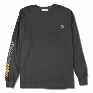 WIND AND SEA/ウィンダンシー/8th Collection/WDS(sail-boat) L/S T-SHIRT(CHARCOAL)/ロングスリーブTシャツ
