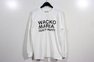 WACKOMARIA/ワコマリア/2021SSE/CREW NECK LONG SLEEVE T-SHIRT ( TYPE-1 )(WHITE)/ロングスリーブTシャツ