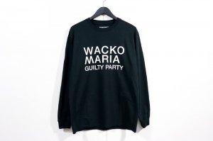 WACKOMARIA/ワコマリア/2021SSE/CREW NECK LONG SLEEVE T-SHIRT ( TYPE-1 )(BLACK)/ロングスリーブTシャツ