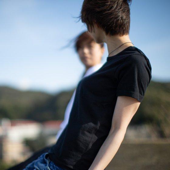 バイクTシャツ 黒 半袖 「kuro」