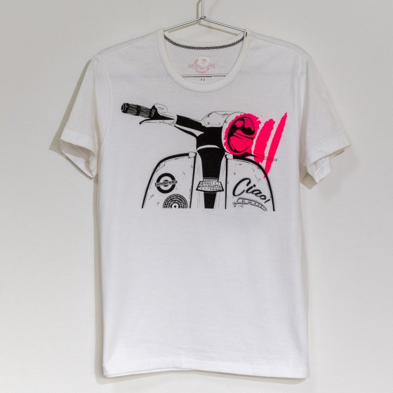 outlet バイクTシャツ 白 半袖 XS 「flash」<img class='new_mark_img2' src='https://img.shop-pro.jp/img/new/icons4.gif' style='border:none;display:inline;margin:0px;padding:0px;width:auto;' />