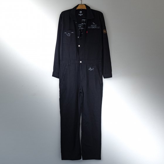 【one-off】denim coverall -永遠の真理- L<img class='new_mark_img2' src='https://img.shop-pro.jp/img/new/icons4.gif' style='border:none;display:inline;margin:0px;padding:0px;width:auto;' />