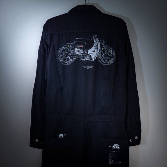 【one-off】denim coverall -CUB- L<img class='new_mark_img2' src='https://img.shop-pro.jp/img/new/icons4.gif' style='border:none;display:inline;margin:0px;padding:0px;width:auto;' />