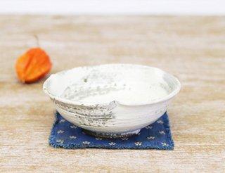 刷毛目 輪花鉢