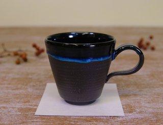 青織部釉 マグカップ