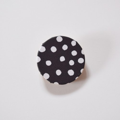 heaven  rondo brooch dot ブラック