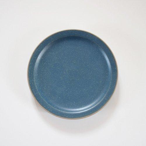 山下透 5寸リム皿  インディゴ