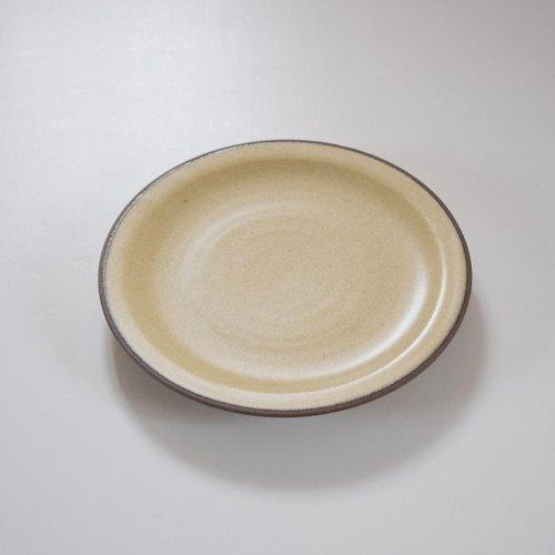 山下透 5寸リム皿  ライムギ