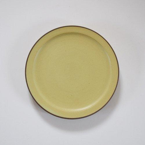山下透 5寸リム皿  アボカド