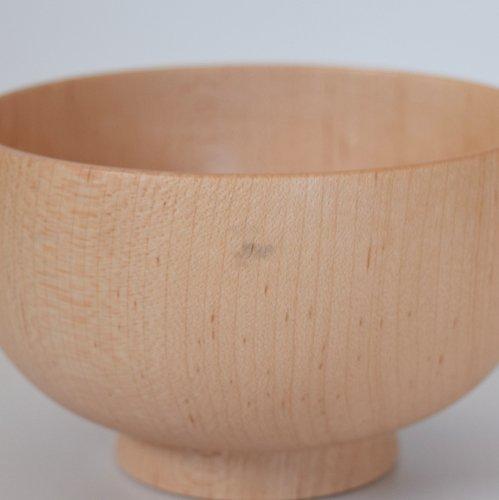 白鷺木工 しらさぎ椀M 楓 ナチュラル
