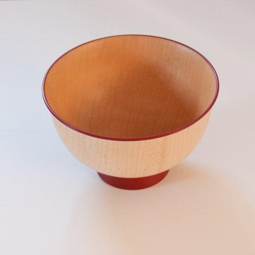 白鷺木工 いろは椀 カラフル 赤