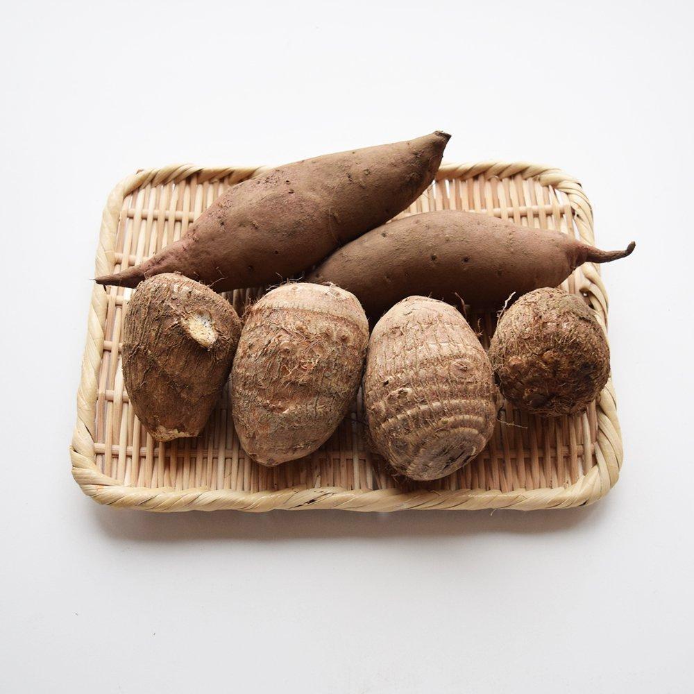 新潟県五泉市産 里芋とさつまいも(シルクスイート)2kg