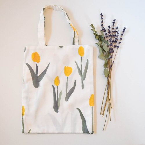otsukiyumi  ミニバッグ tulip yellow
