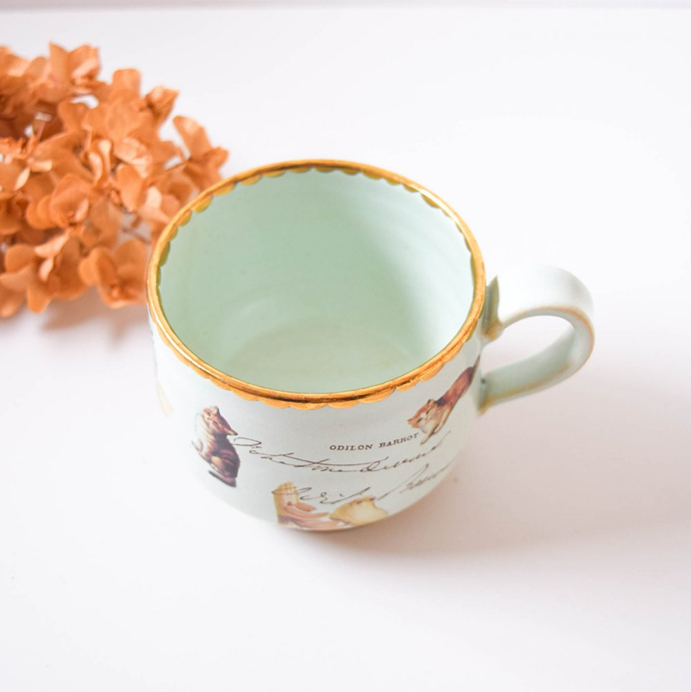 Hiruma Ikumi  pot et chat  マグカップ