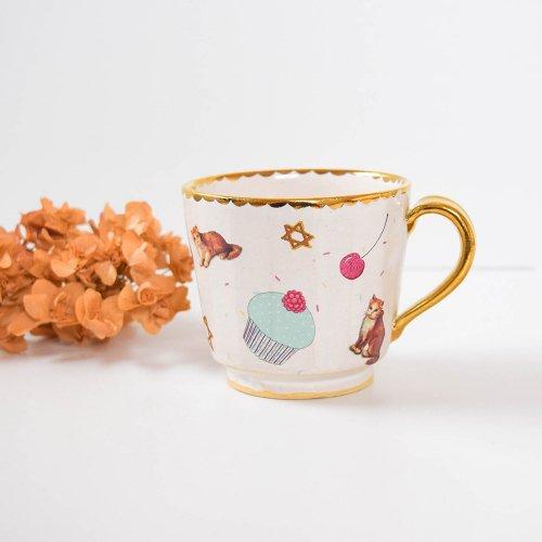 Hiruma Ikumi  midnight tea time マグカップ