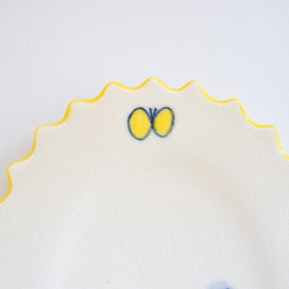 桂さえか フリルオーバル 小  蝶々マット
