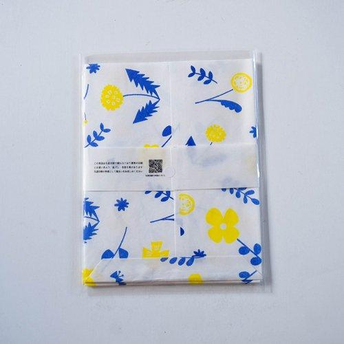 mameritsuko PAPER BAG  ボタニカル ホワイト