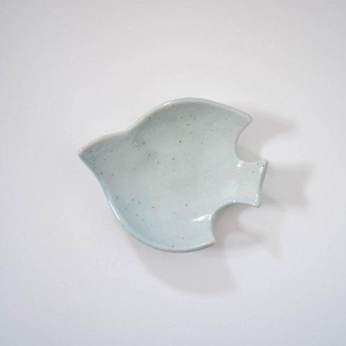 長浜由起子 コトリ皿 ペールブルー