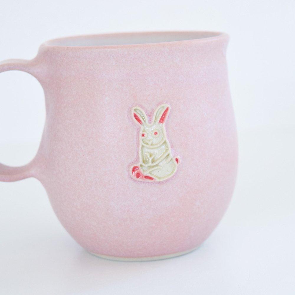 下永久美子 マグカップ ウサギ