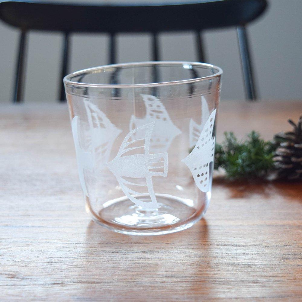 神澤麻紀 ガラスのコップ bird