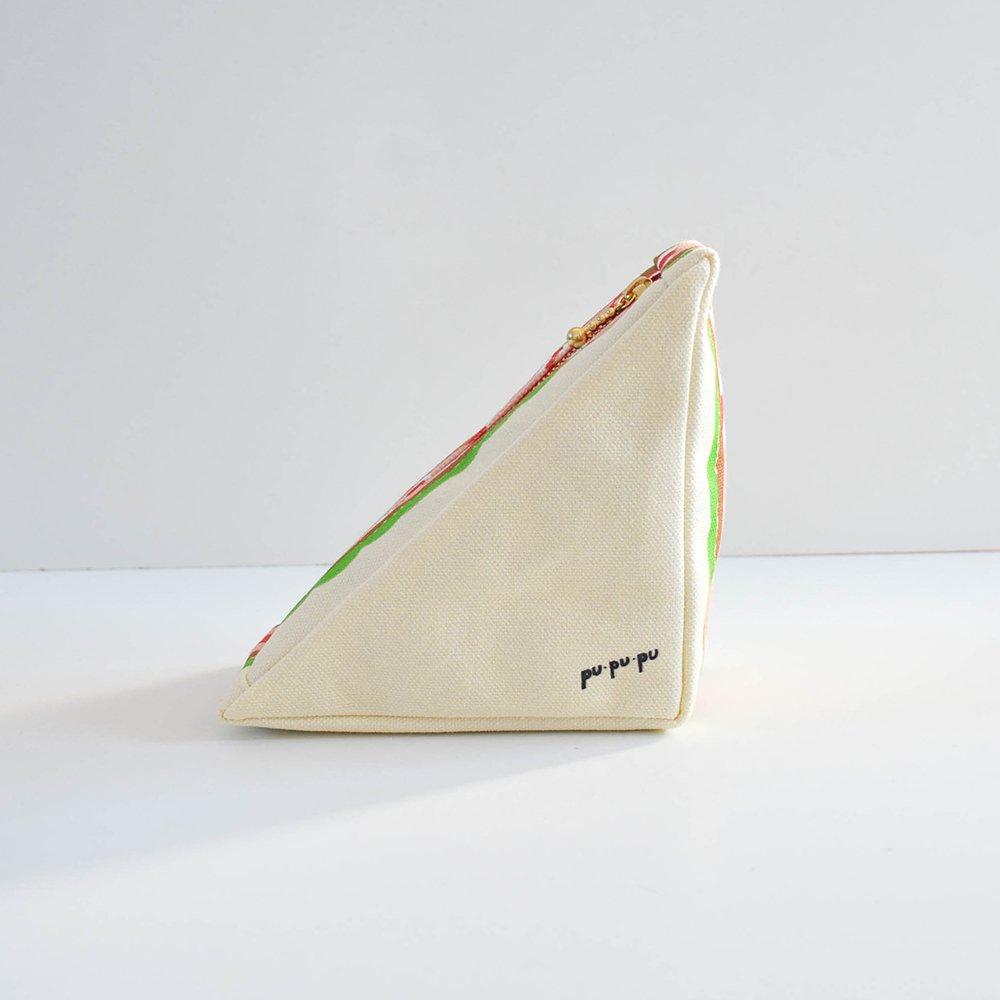 pu・pu・pu 三角のサンドイッチポーチ  エビカツサンド
