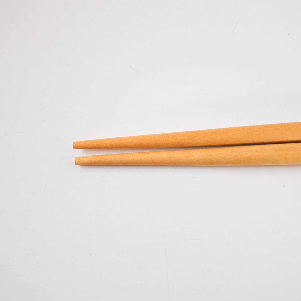 yuuyuu箸 シラカバの木  くも花箸 黄色
