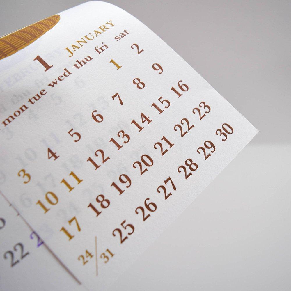 mameritsuko 2021年カレンダー