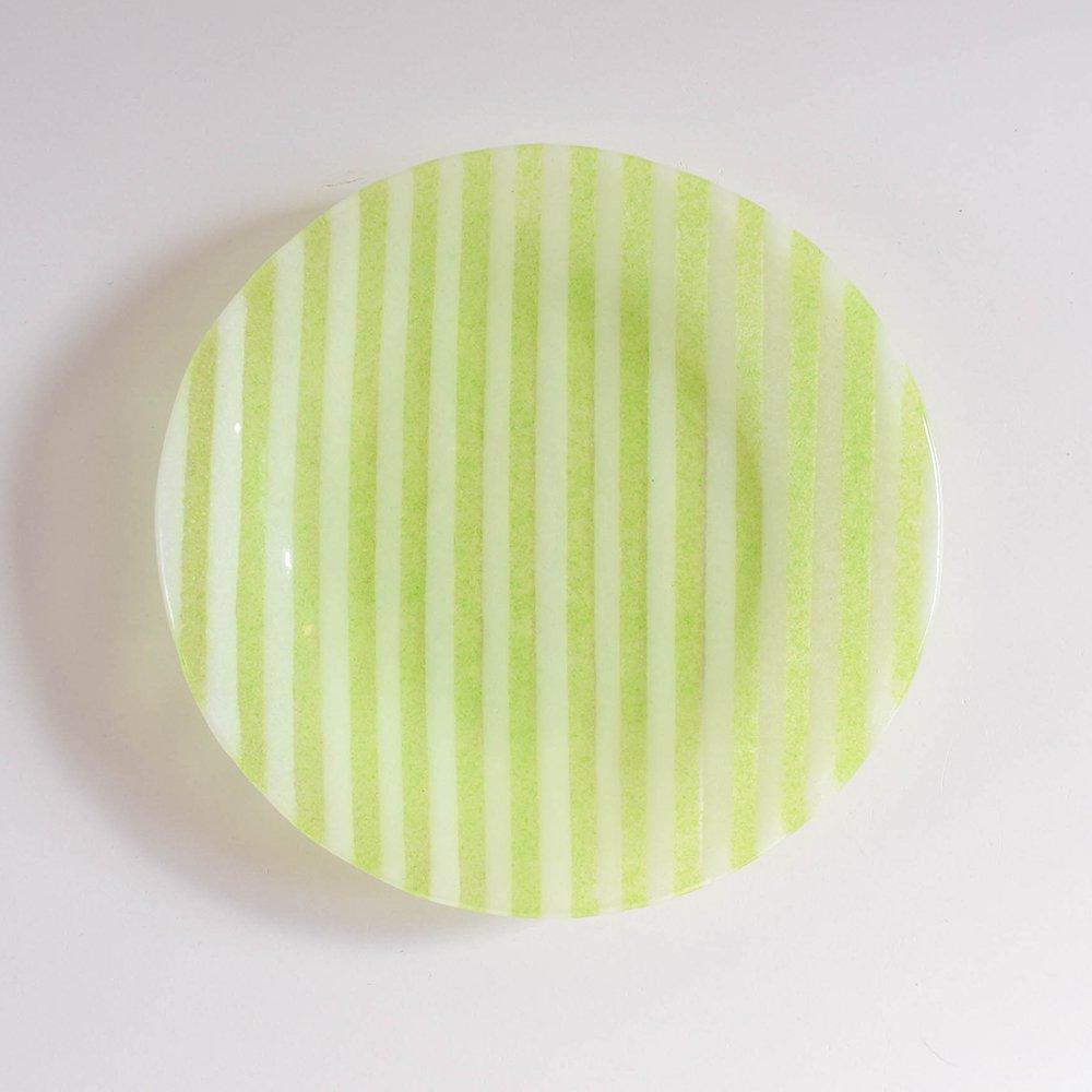 Mai Ikarugi ストライプ  ライトグリーン×ホワイト