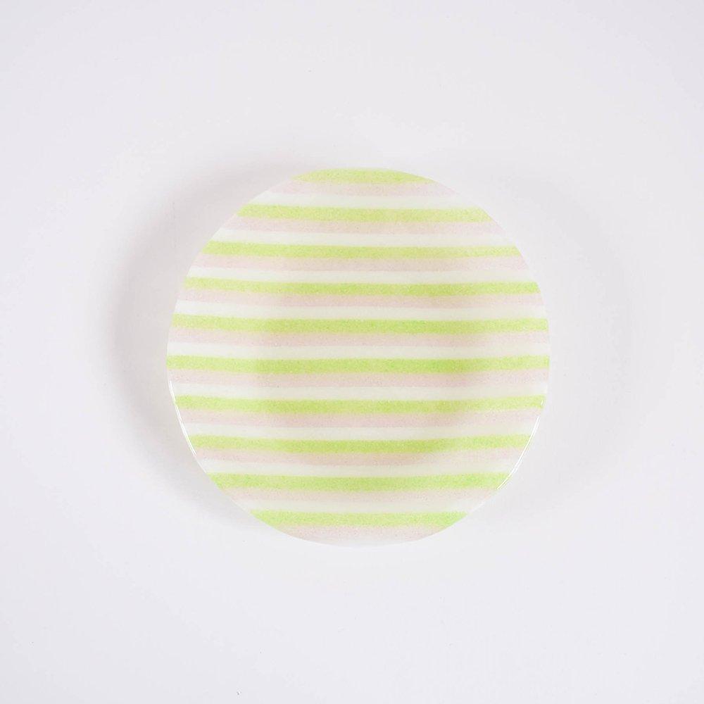 Mai Ikarugi ストライプ  ライトグリーン×ピンク×ホワイト