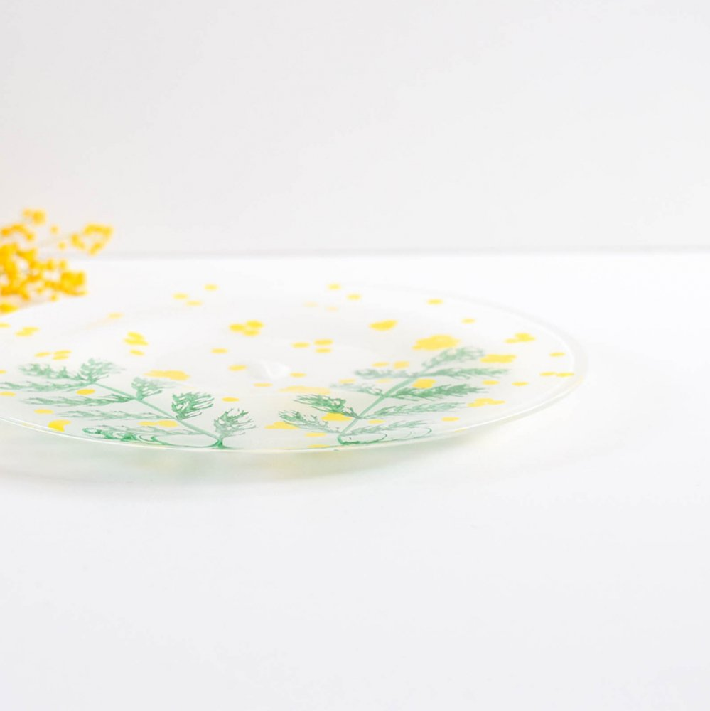 Yukiko Nakano plate mimosa
