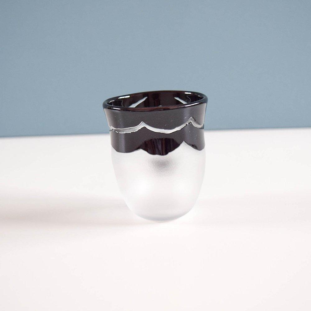 Tickle glass   おかおグラス B
