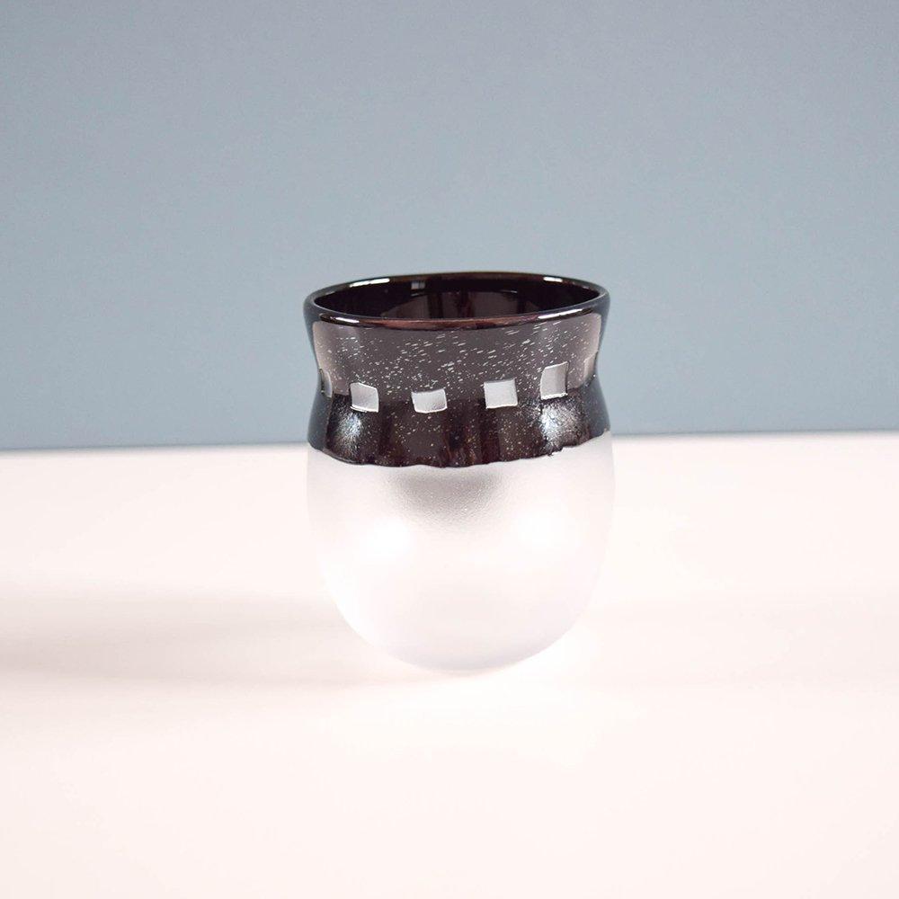 Tickle glass   おかおグラス C