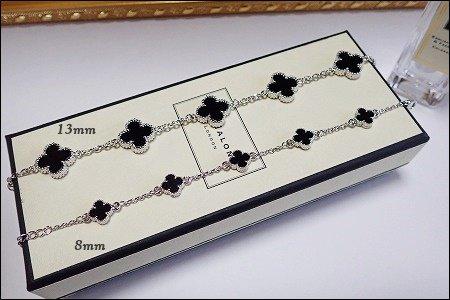 11/27〜順次発送 Onyx 5clover  bracel...
